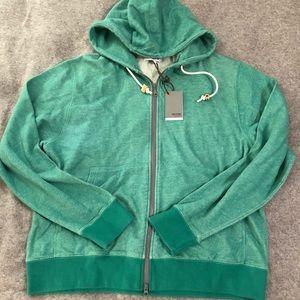 green Jack Spade sweatshirt